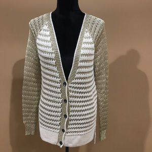 Rag and Bone Acrylic Button Down Cardigan